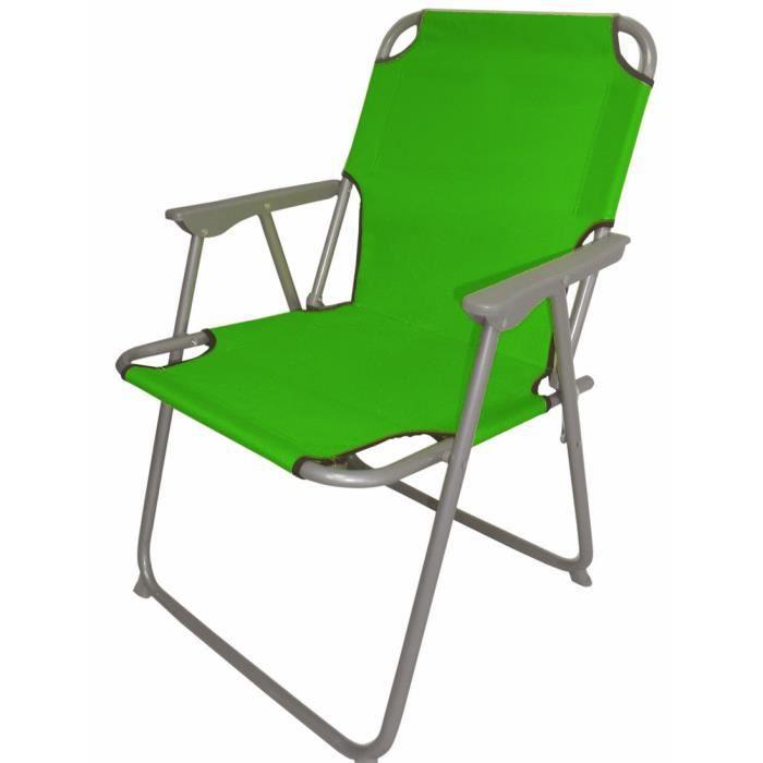 Pliant Piccolo environ pliable:. 75 cm x 52 cm x 47 cm - couleur: vert