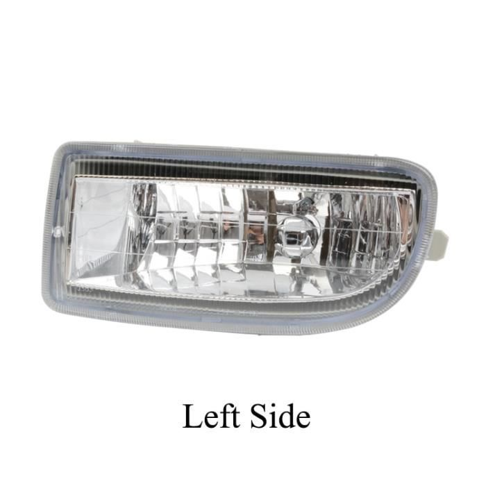 Left Side -ZUK – feu antibrouillard pour Toyota LAND CRUISER 100, phare pour pare choc avant, LC100 1998 – 2007 HDJ100 UZJ100 4500 4