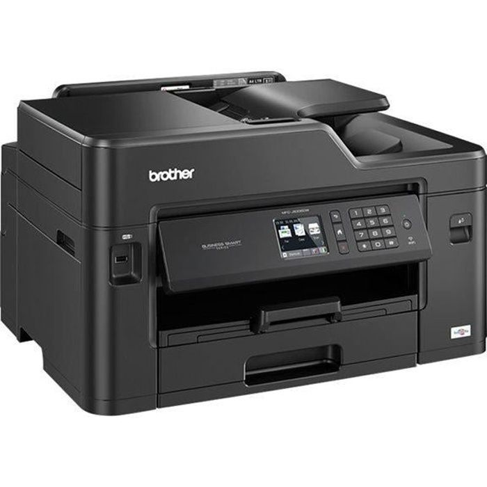 BROTHER Imprimante multifonction 4 en 1 MFCJ5335DW Business Smart - Jet d'encre - Couleur - USB 2.0, Ethernet, Wi-Fi - RectoVerso