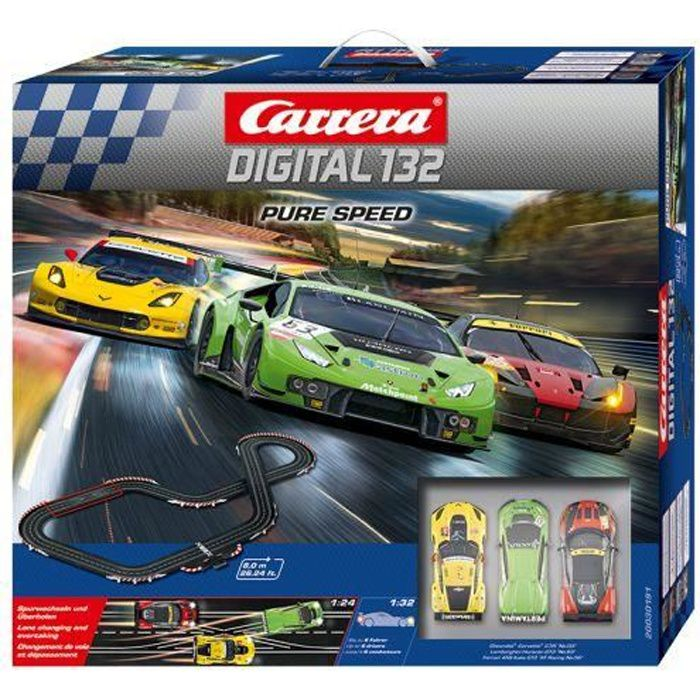 Circuit Miniature - Carrera DIGITAL 132 30191 Coffret Pure Speed