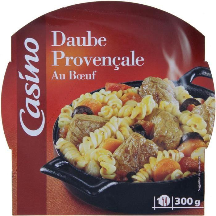 Daube provençale - Au bœuf - 300g