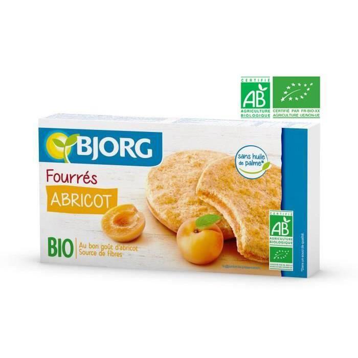 BJORG Fourres Abricot Bio 175g