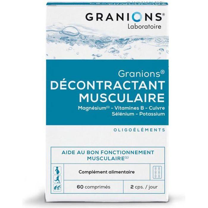 GRANIONS® DÉCONTRACTANT MUSCULAIRE 60 COMPRIMÉS