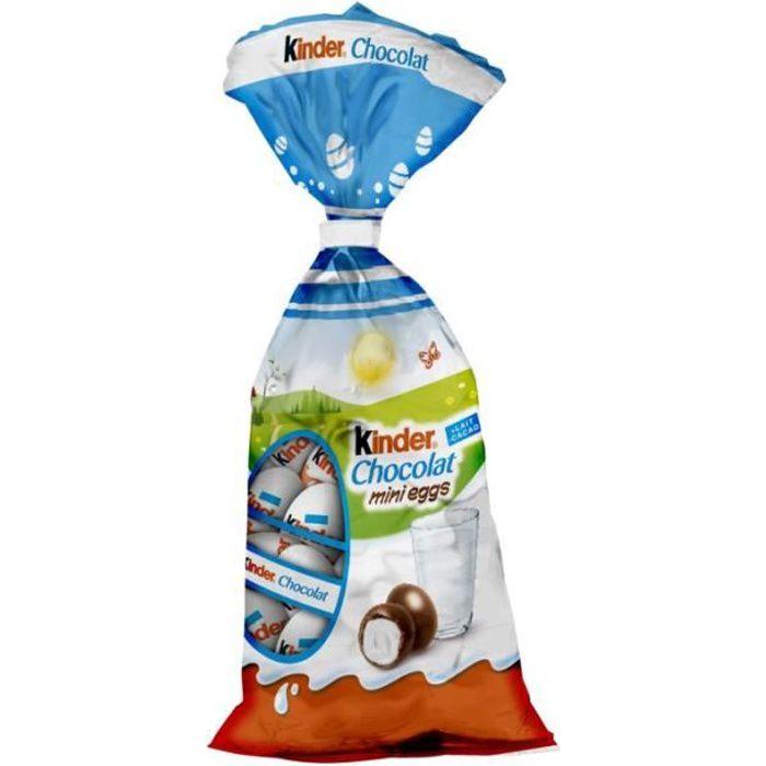Kinder Mini eggs Œufs en chocolat 182g