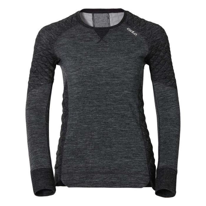 Sous vêtements techniques t-shirts Odlo Shirt L/s Crew Neck Revolution Tw X-warm