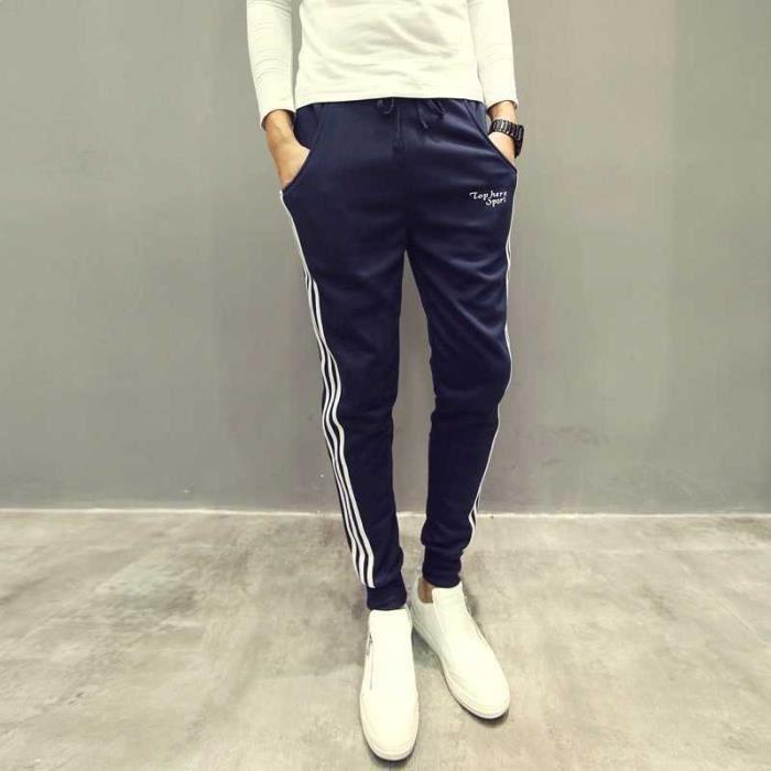 Loisirs pantalons hommes sports Jogging pantalons coton 2018 -bande K29