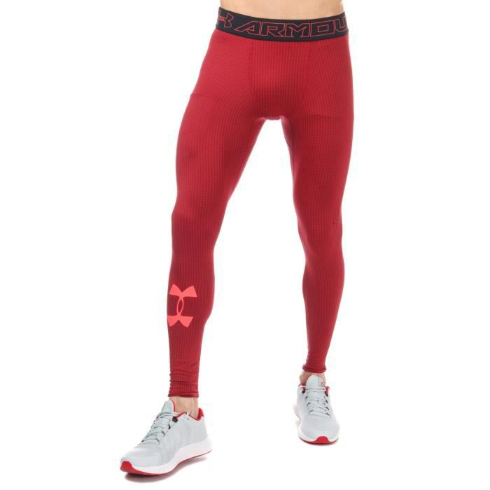 Under Armour Legging CG Armour Rouge Homme