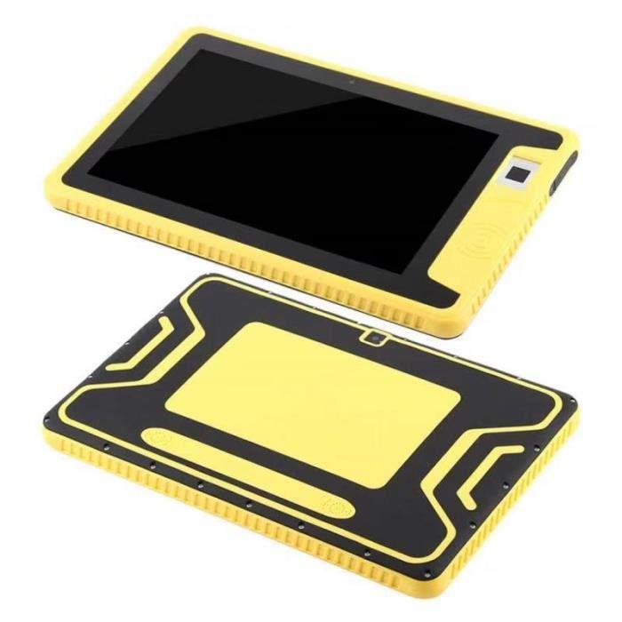 Tablette PC à trois épreuves 10,1 pouces 4G appel NFC reconnaissance d'empreintes digitales
