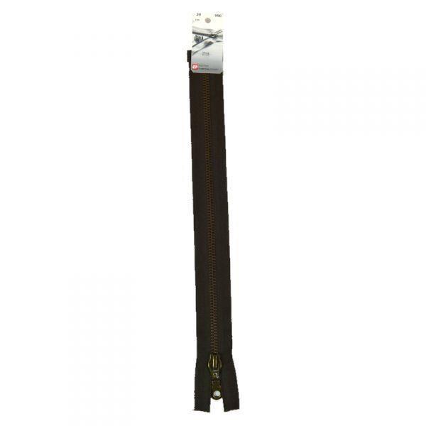 Fermeture Eclair séparable métal (Z19) - 90 cm 990 Brou de noix