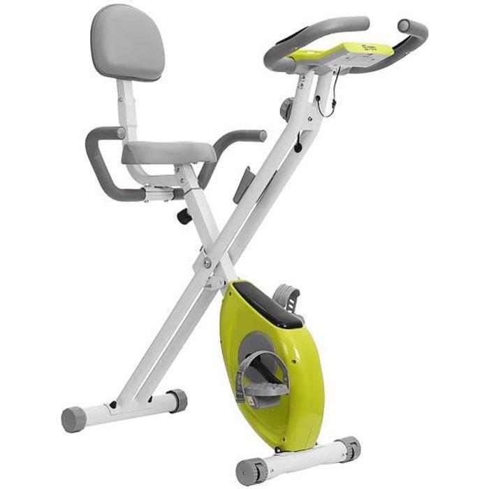 Vélo D'Appartement Pliable Vélo D'Exercice Xbike Entraînement Ecran LCD Avec 8 Niveaux De Résistance