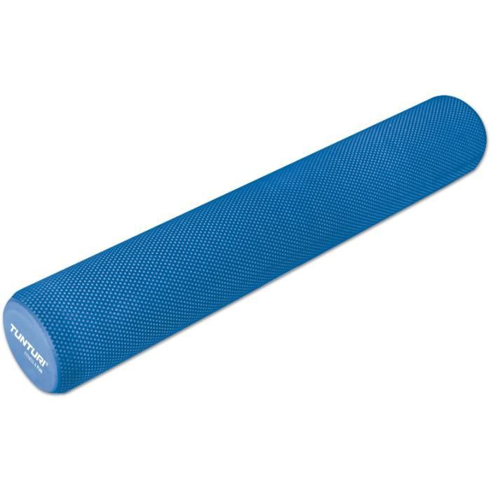 TUNTURI Rouleau de massage yoga 90cm EVA bleu
