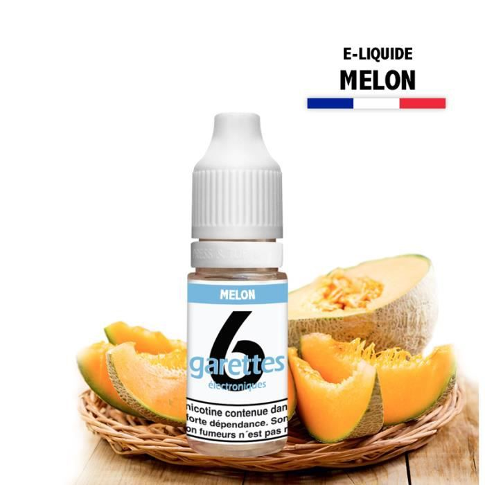 E-liquide 10ML saveur MELON avec 6MG de nicotine (e-liquide id : PROD945) - (1x10ML)