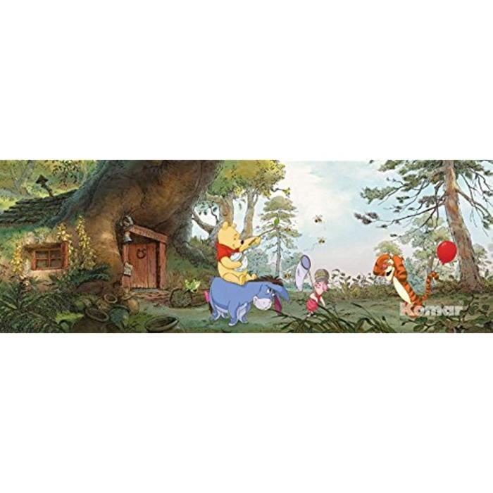 /Wall Paper/ /Papier Peint Photo Mural 368/x 127/cm/ clos sont une Contenu du Colle et une klebea nleitung. /Disney/ /4/pi/èces empireposter Winnie lourson House/