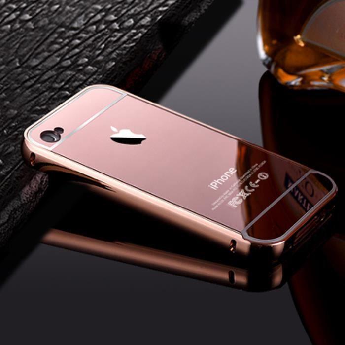 coque pour apple iphone 5c rose d or motif le miro