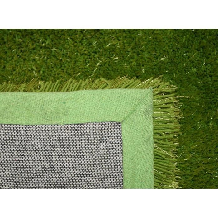 tapis shaggy a poils long colourcourage vert 2 achat. Black Bedroom Furniture Sets. Home Design Ideas