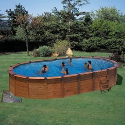 Piscine bois semi enterr e 3m for Reglementation piscine semi enterree
