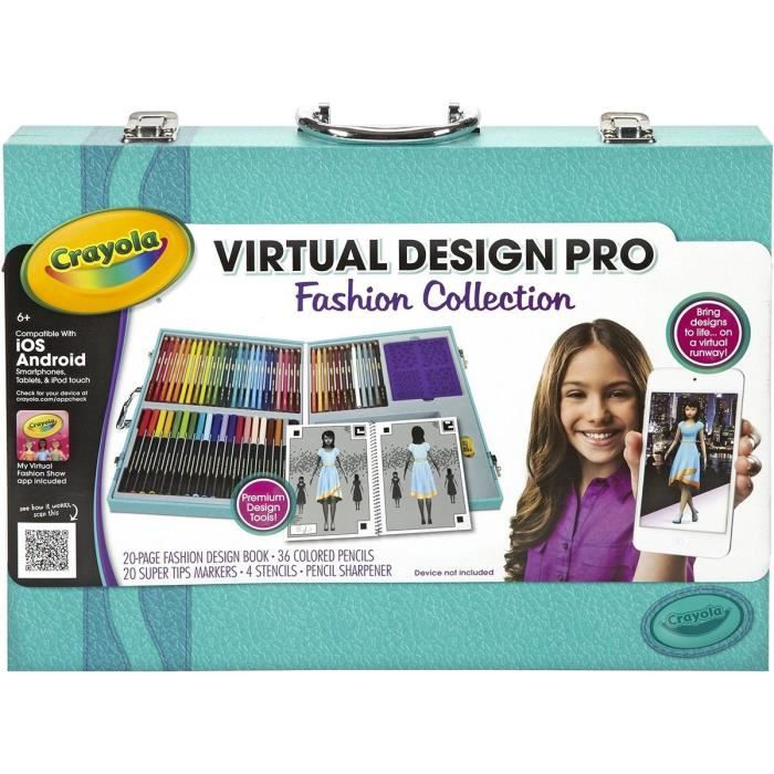 Crayola Color Alive Fashion Collection Achat Vente Kit De Dessin Cdiscount