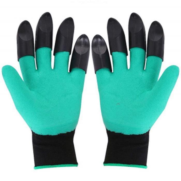 2 paires de gants de jardinage
