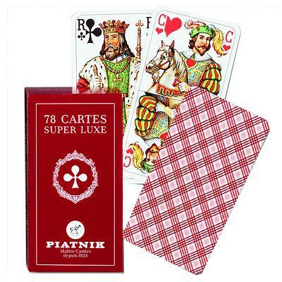 CARTES DE JEU Jeu de Tarot - 78 cartes standard