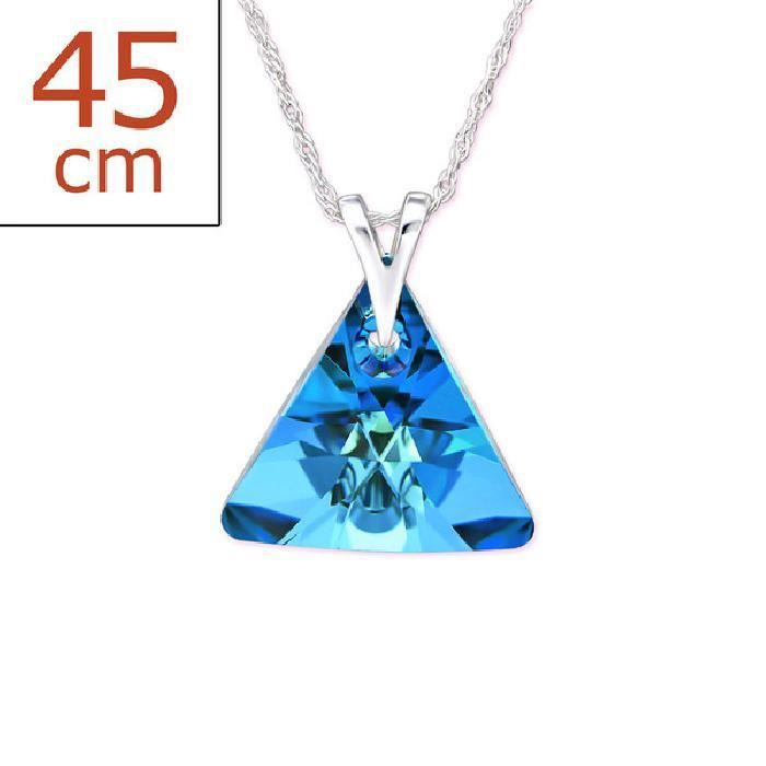 Colliers Triangle Collier from SWAROVSKI® CRYSTALS Argent 925
