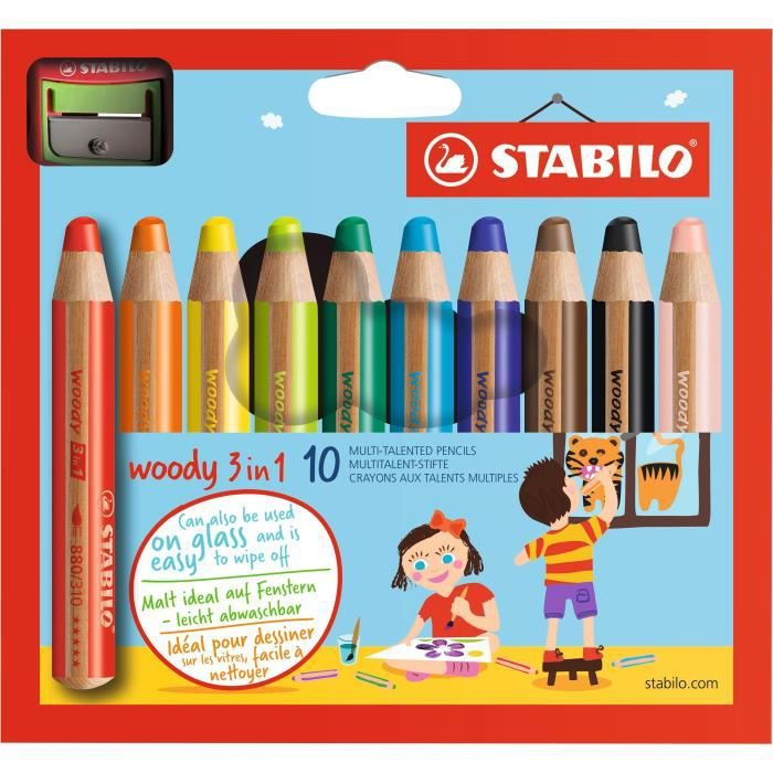 taille crayon woody