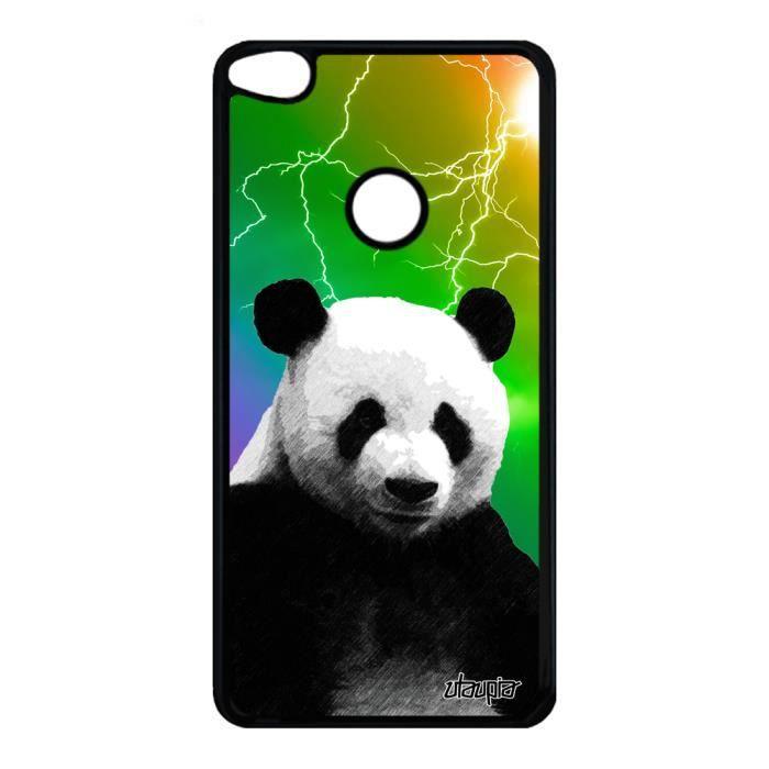 Coque silicone antichoc Huawei P8-P9 Lite 2017 panda case design ...