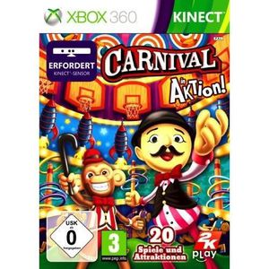 PACK ACCESSOIRE CARNIVAL GAMES (JEU KINECT)