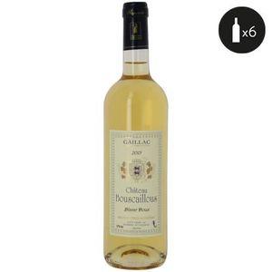 VIN BLANC 6 bouteilles - Vin blanc - Tranquille - CHATEAU BO