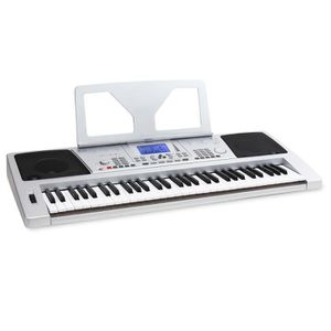 CLAVIER MUSICAL Schubert Sub61 Clavier USB Midi 61 touches argent