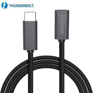 CÂBLE INFORMATIQUE USB-C câble d'extension mâle vers femelle, Amavasi