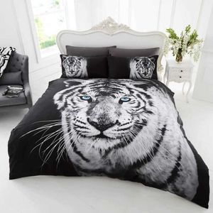housse de couette tigre achat vente housse de couette. Black Bedroom Furniture Sets. Home Design Ideas