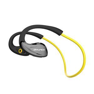 CASQUE - ÉCOUTEURS AWEI A880BL Sport Casque Sans Fil Bluetooth Écoute