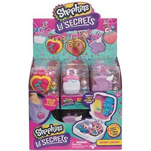 Shopkins Lil /'Secrets-Secret Shop Playset-Neuf
