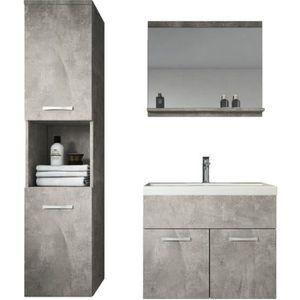 SALLE DE BAIN COMPLETE Meuble de salle de bain Montreal 60 cm lavabo Beto