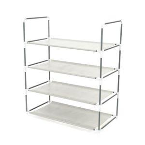 MEUBLE À CHAUSSURES SALOME Etagère de chaussures classique en métal Gr