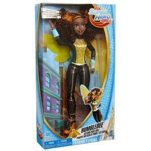 POUPÉE DC Comics Superhero Girls Bumblebee Action Pose po