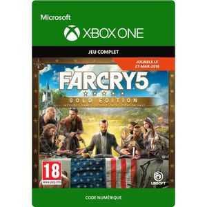 JEU XBOX ONE À TÉLÉCHARGER Far Cry 5: Gold Edition Jeu Xbox One à télécharger