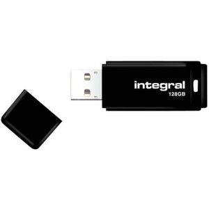CLÉ USB INTEGRAL Clé USB - 128 Go - USB 2.0 - Noir