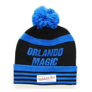 BONNET - CAGOULE MITCHELL & NESS Bonnet Pompon Orlando MAGIC  roi-