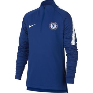 TENUE DE FOOTBALL HAUT JUNIOR NEWS TRAINING FC CHELSEA BLEU 2018/19