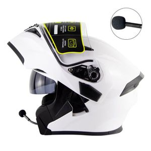 CASQUE MOTO SCOOTER Casque moto modulable Adulte Unisex casque moto Bl