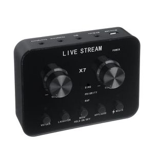 CARTE SON EXTERNE BRAVOTW Carte Son Externe USB PC Microphone Audio