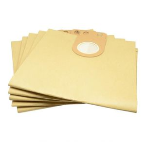 5x Sac-filtre tissus pour aspirateur Metabo AS 1200 ASA 1201