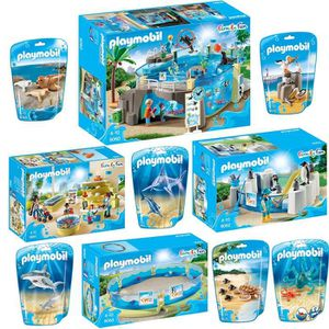 ASSEMBLAGE CONSTRUCTION Playmobil Set  Marine Aquarium composé de 9060 906