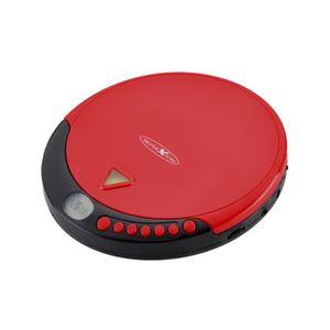 BALADEUR CD - CASSETTE Reflexion PCD500MP, MP3, LCD, Secteur, Batterie-Pi