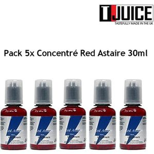 LIQUIDE Pack 5x Concentré Red Astaire 30ml - T JUICE