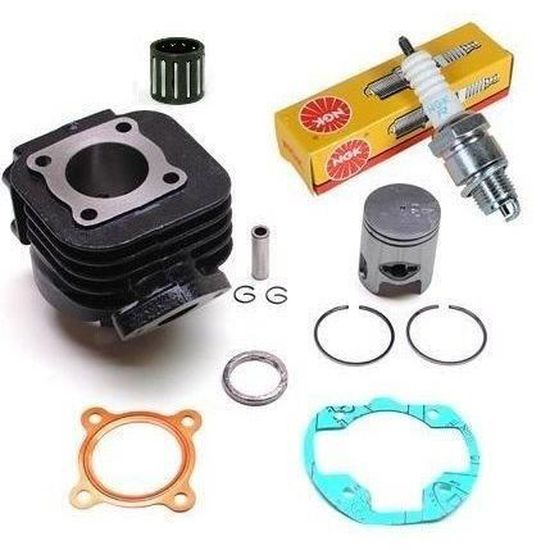 Kit Moteur Cylindre Piston joints cage bougie Peugeot Ludix 50 air //Speedfight 3