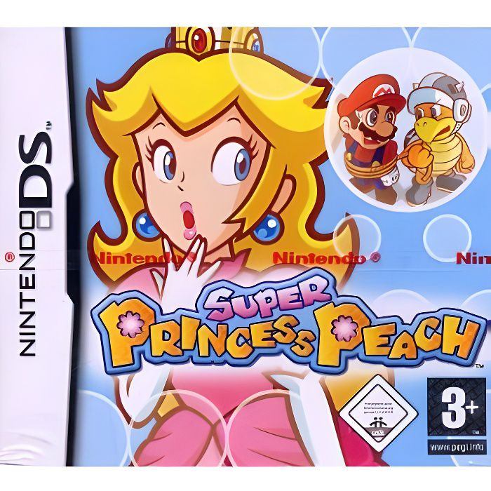 JEU DS - DSI SUPER PRINCESS PEACH / jeu console DS