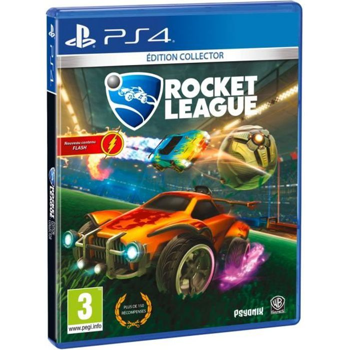Rocket League Edition Collector Jeu PS4