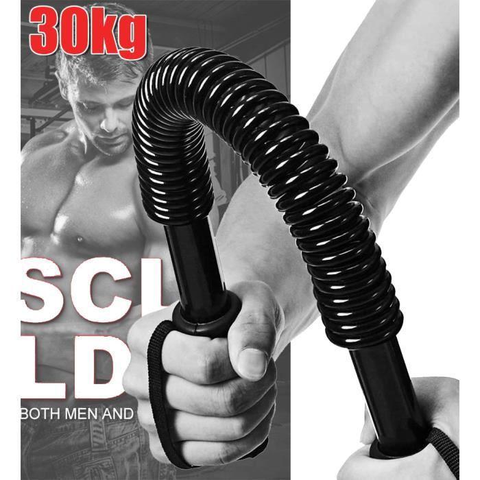 Professionnel Barre à Ressort pour la Musculation des pectoraux/épaules, 30kg